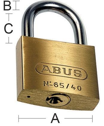 Hänglås Abus 65 Hb-50-80