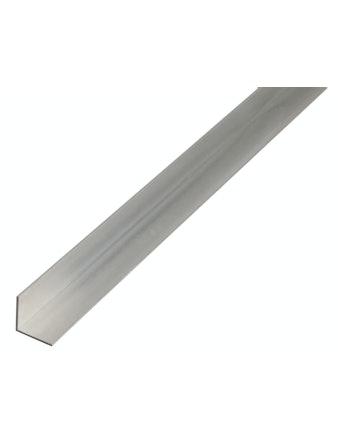 Профиль угловой алюминиевый, 1000 х 30 х 30 х 2 мм