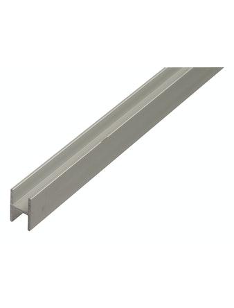 Профиль Н-образный алюминиевый, 1000 х 22 х 13,5 х 1,75 мм