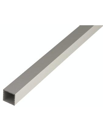 Труба квадратная алюминиевая, 2000 х 25 х 1,5 мм