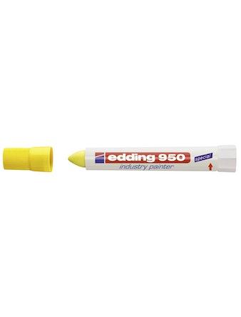 Маркер Edding E-950-5 10 мм желтый