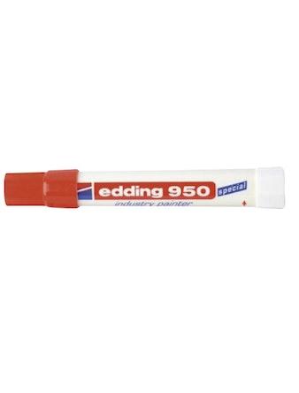 Маркер Edding E-950-2 10 мм красный