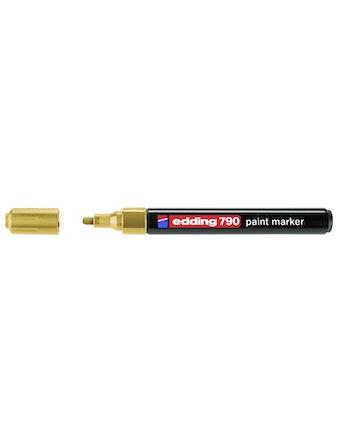 Маркер Edding E-790-53 2-4 мм золотой