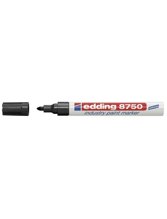 Маркер Edding E-8750-1 2-4 мм черный