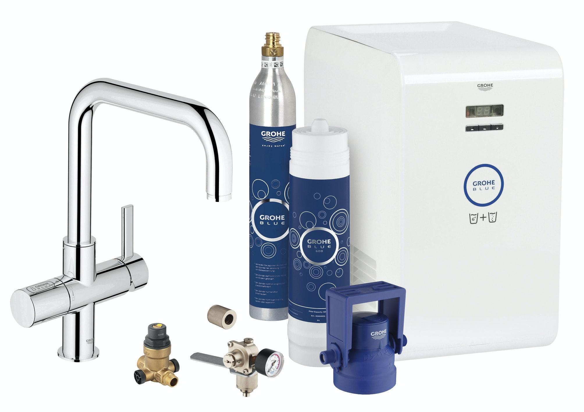 Köksblandare Grohe Blue Professional Starter Kit U-Pip