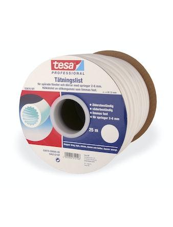Tätningslist Tesa O-List Vit 7,5mmX25m