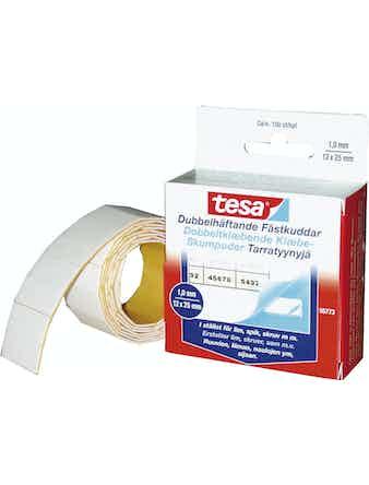 Fästkuddar Tesa Dubbelhäftande 12X25mm 100-Pack