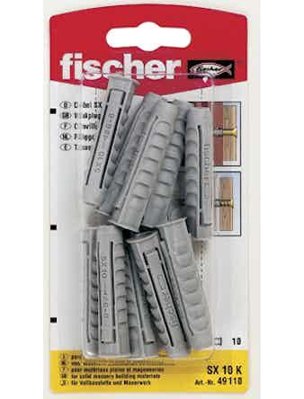 Nylonplugg Fischer SX10 K 90016