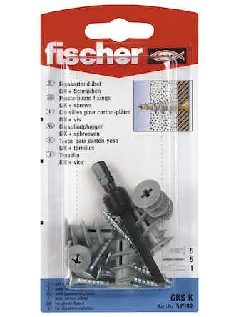Gipsankare Fischer Gks-K 22mm 5-Pack 90023