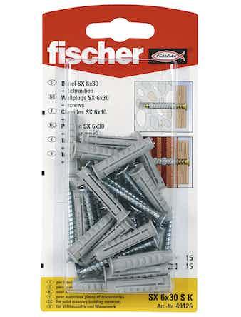 Nylonplugg Fischer SX6 Sk 90177