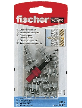 Gipsankare Fischer Gk-K 22mm 10-Pack 90209