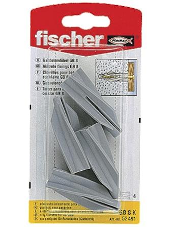 Lättbetongplugg Fischer Gb 8K 90210 4-Pack
