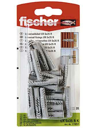 Allroundplugg Fischer Ux6X35Rk 90512