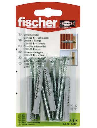 Allroundplugg Fischer Ux 6X50 Rsk 90528