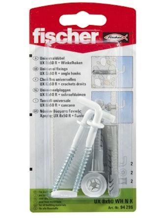 Vinkelkrok Fischer Fu8 2K 2-Pack 94638