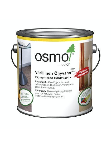 OSMO COLOR ÖLJYVAHA VÄRI 2,5L 3067 KUULAS HARMAA