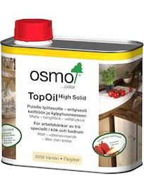OSMO COLOR TOPOIL 0,5L 3058 VÄRITÖN MATTA