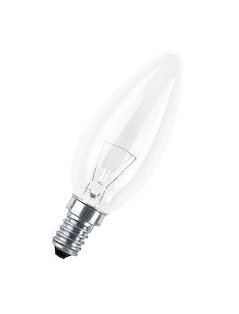 Лампа накаливания OSRAM свеча, 60W, E14