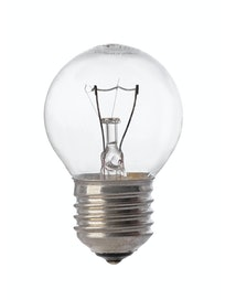 Лампа накаливания Osram шар, 60 Вт х E27, прозрачная