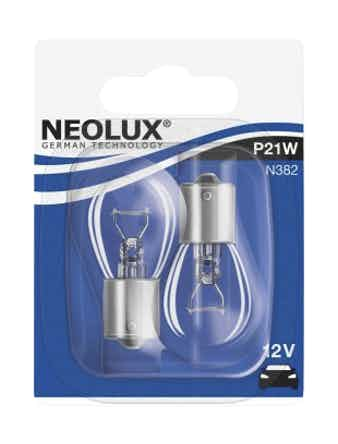 Лампа NEOLUX P21W 12V BA15S