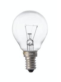 Лампа накаливания Osram шар, 25 Вт х E14, прозрачная