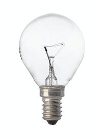 Лампа накаливания Osram шар, 40 Вт х E14, прозрачная