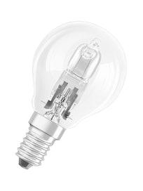 Лампа галогеновая Osram, шар, 230 В, E14 х 46 Вт