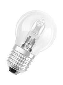 Лампа галогеновая Osram, шар, 230 В, E27 х 46 Вт