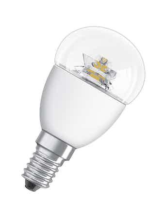 Ledlampa Osram Klot Superstar Classic P 3,8w E14 Dimbar Klar