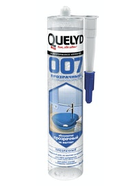 Клей-герметик Quelyd 007, прозрачный, 300 г