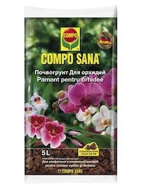 Почвогрунт Compo Sana, для орхидей, 5 л