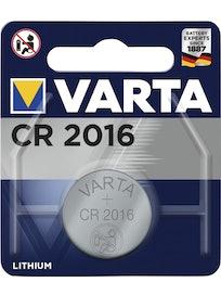 NAPPIPARISTO VARTA LITIUM CR 2016