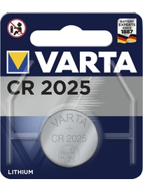NAPPIPARISTO VARTA LITIUM CR 2025