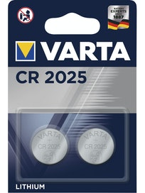 LITIUMNAPPIPARISTO VARTA CR 2025 2KPL