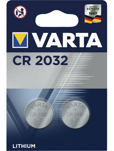 NAPPIPARISTO VARTA CR 2032 LITIUM 2KPL