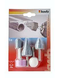 Камни шлифовальные KWB 5100-00, 5 шт.