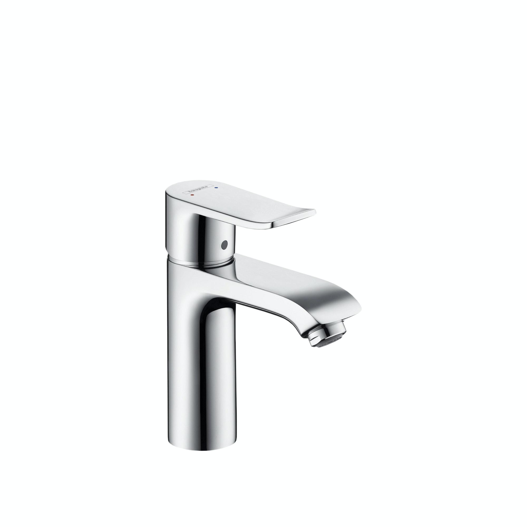 Tvättställsblandare HansGrohe Metris 110 Krom