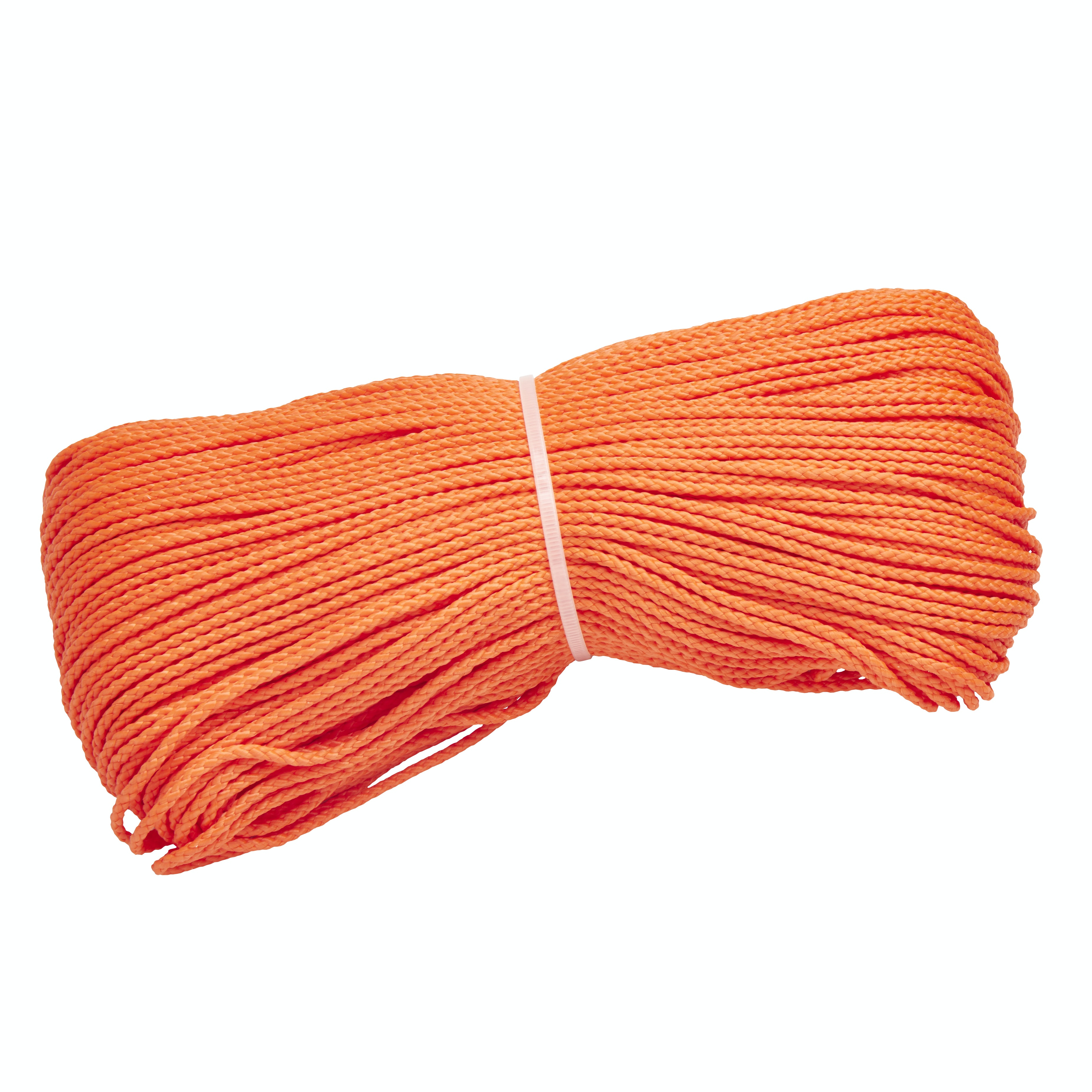 Rep Bunt Polypropen 3mm Flät 135m Orange