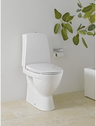 WC-stol Laufen Pro-N dolt s-lås hög