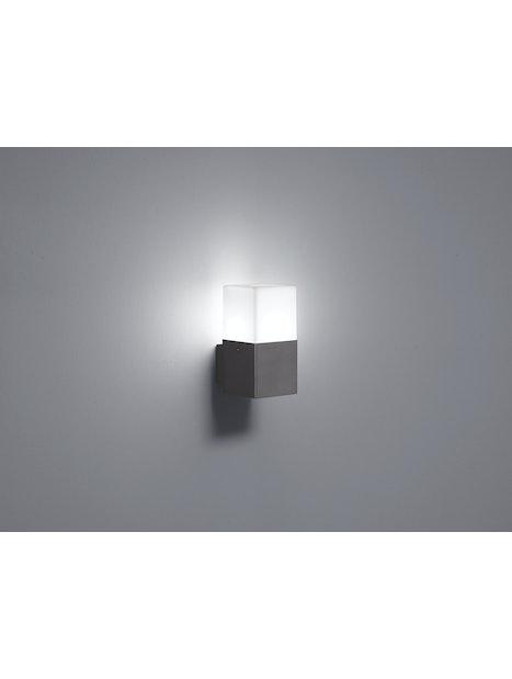 LED-ULKOSEINÄVALAISIN TRIO HUDSON 220060142 E14 IP44 170 MUSTA