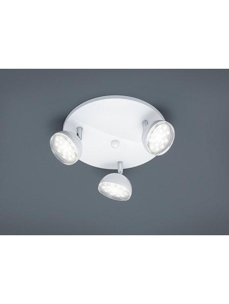 SPOTTI TRIO 3-OSAINEN VALKOINEN 872830301 SMD LED