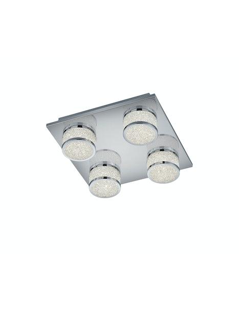 KATTOVALAISIN TRIO CLINTON 675210406 28X28CM LED