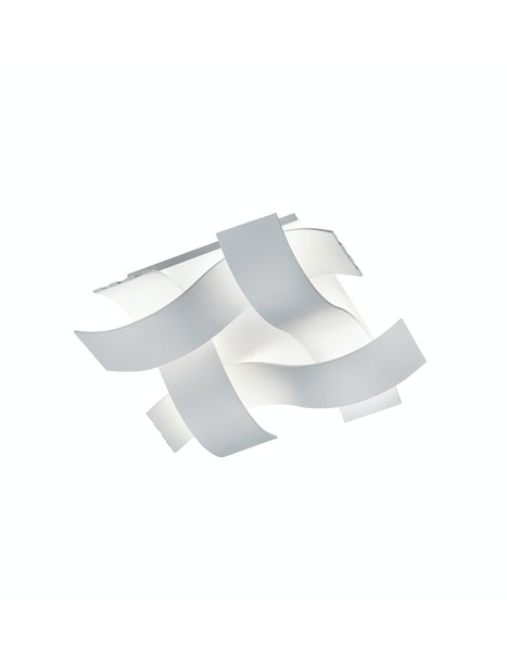 KATTOVALAISIN TRIO RUBY LED 35X35CM VALKOINEN