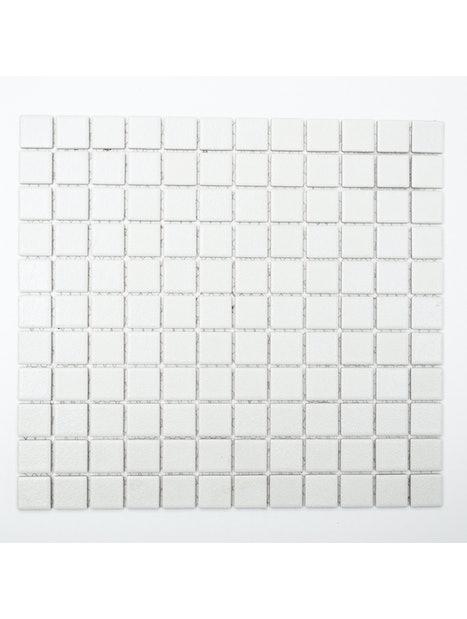 MOSAIIKKI CELLO REA 2,5x2,5 VALKOINEN KARHEA