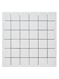 MOSAIIKKI CELLO SQUARE 4,8X4,8/30X30 VALKOINEN CD111