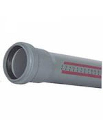 Труба канализационная с раструбом DN50/1500