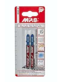 Пилки для нержавеющей стали и цветных металлов MPS HSS, 75 x 50 мм, 2 шт.