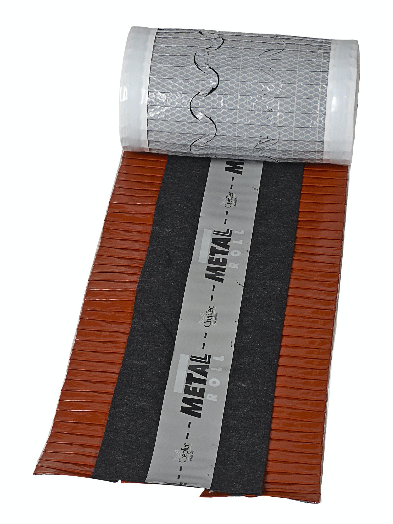 Nockband Monier Metalroll 260-320 5m Tegelröd