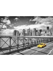 Фотообои Komar 4-929 Taxi to Brooklyn, 184 х 254 см