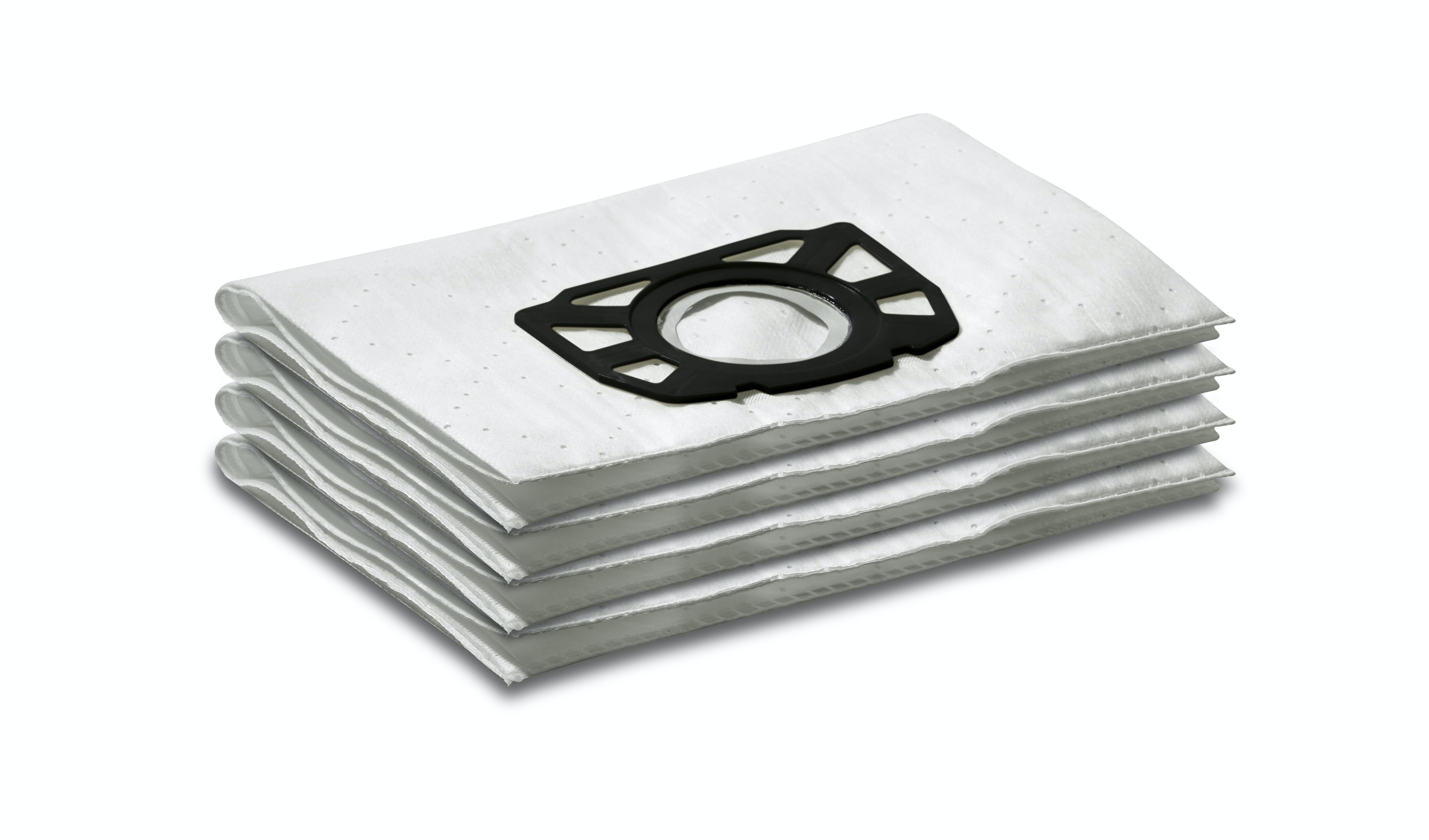 Filterpåsar Karcher 4 St Fleece Wd 7.Xxx